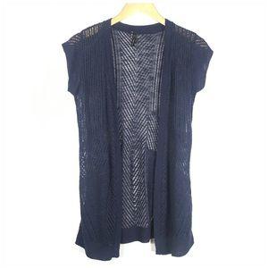Maurices Blue CoverUp Cardigan Sweater Medium